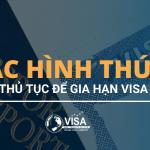 Các hình thức nộp thủ tục gia hạn visa Mỹ