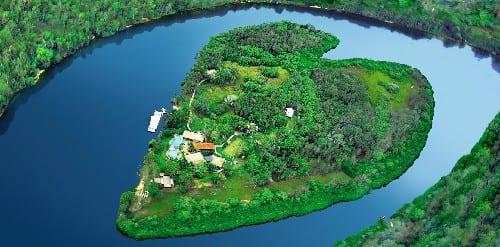 đảo trái tim nước úc