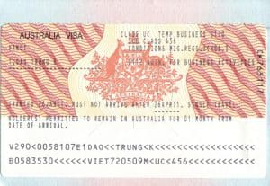 lý do thích hợp để xin visa du lịch úc