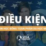 Điều kiện xin học bổng toàn phần Du Học Mỹ