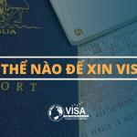Làm thế nào để xin visa Úc