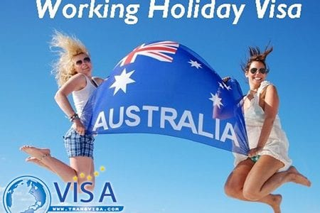 visa working holiday Úc 1