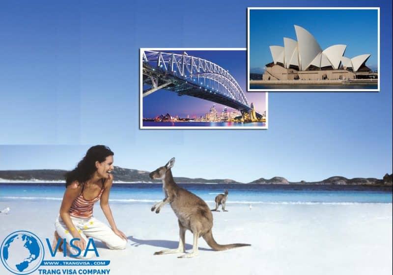Visa Úc thăm người thân