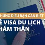 Những Điều Cần Biết Về Visa Du Lịch Úc Thăm Thân Nhân