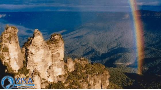 dịch vụ visa úc blue mountain