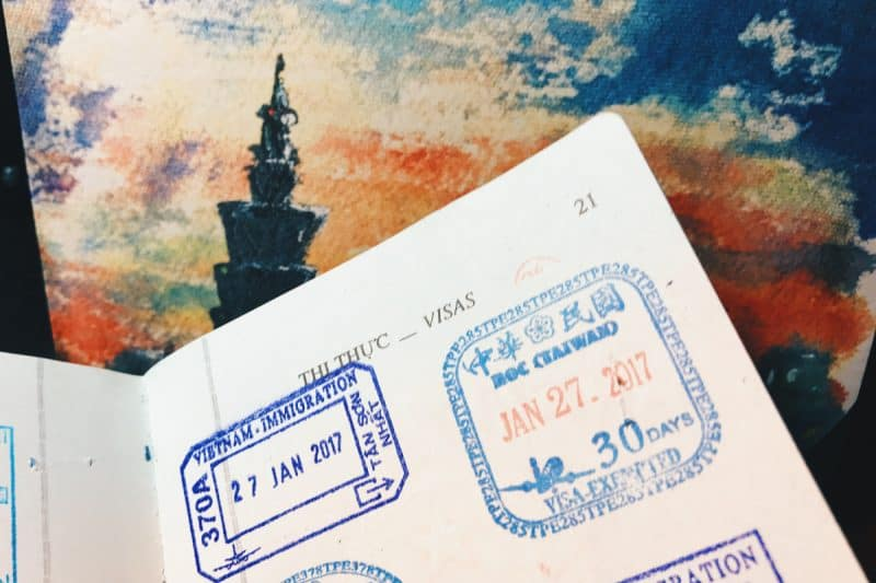du lịch Đài Loan có cần visa không