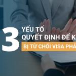 3 yếu tố quyết định để không bị từ chối khi xin visa Pháp
