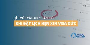 đặt lịch hẹn xin visa Đức