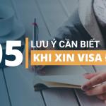 5 lưu ý cần biết khi xin visa Đức