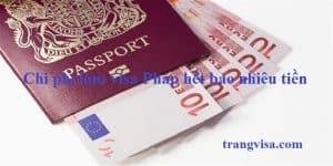 Làm visa đi Pháp hết bao nhiêu tiền
