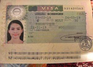 thủ tục xin visa thụy sĩ
