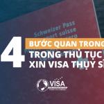 04 bước quan trọng trong thủ tục xin visa Thụy Sĩ