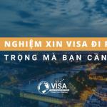 Kinh nghiệm xin visa đi Pháp quan trọng mà bạn cần biết
