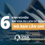 06 kinh nghiệm xin visa du lịch Úc quan trọng mà bạn cần ghi nhớ